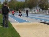 Saint-Pol : triple saut au meeting d'athlétisme du 1er mai