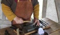Rues-des-Vignes: Démonstration de création d'une pièce de monnaie à l'Archéo'site