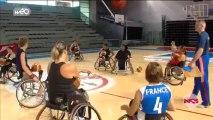 L'équipe de basket handisport se prépare à Villeneuve d'Ascq pour les jeux paralympiques