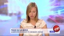 Taxe sur la bière : deux députés écrivent à Jacques Chirac