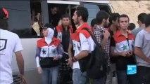 À Damas, des jeunes Syriens prêts à devenir des boucliers humains en cas de frappes
