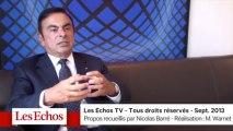 """Carlos Ghosn : """"Nous ne sommes pas au bout du potentiel de synergies dans l'alliance Renault-Nissan"""""""