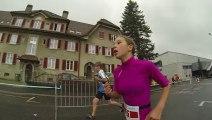 Triathlon Chaux de Fonds 2013 - Salomé et Samuel