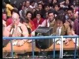 Antonio Inoki, Seiji Sakaguchi & Kengo Kimura vs Rusher Kimura, Animal Hamaguchi & Isamu Teranishi