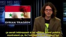 SYRIE : faux mort se réveille et se marre ! Propagande Terroriste