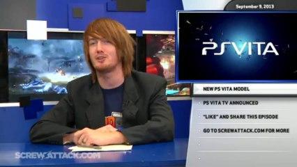 Hard News 09/09/13 - PS4, New Vita, and Vita TV - Hard News