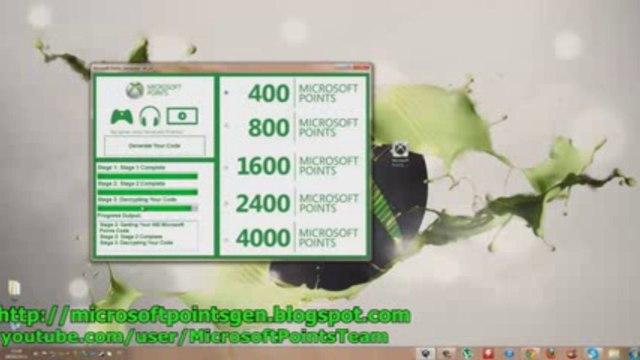 Téléchargement gratuit -  GRATUIT Xbox Live Codes générateur [Septembre 2013] - Microsoft Points Generator