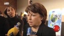 Martine Aubry veut limiter le nombre de roms