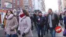 Mariage pour tous : près de 3000 personnes dans les rues de Lille
