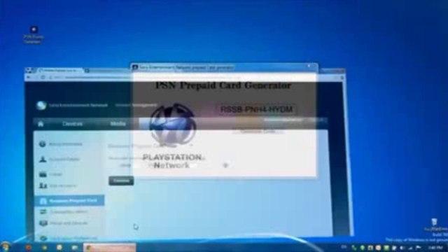 Generateur de code PSN - Code PSN Gratuit - Téléchargement Gratuit [Septembre 2013]
