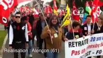 Manif de rentrée pour les retraites - Le cortège a défilé mardi matin