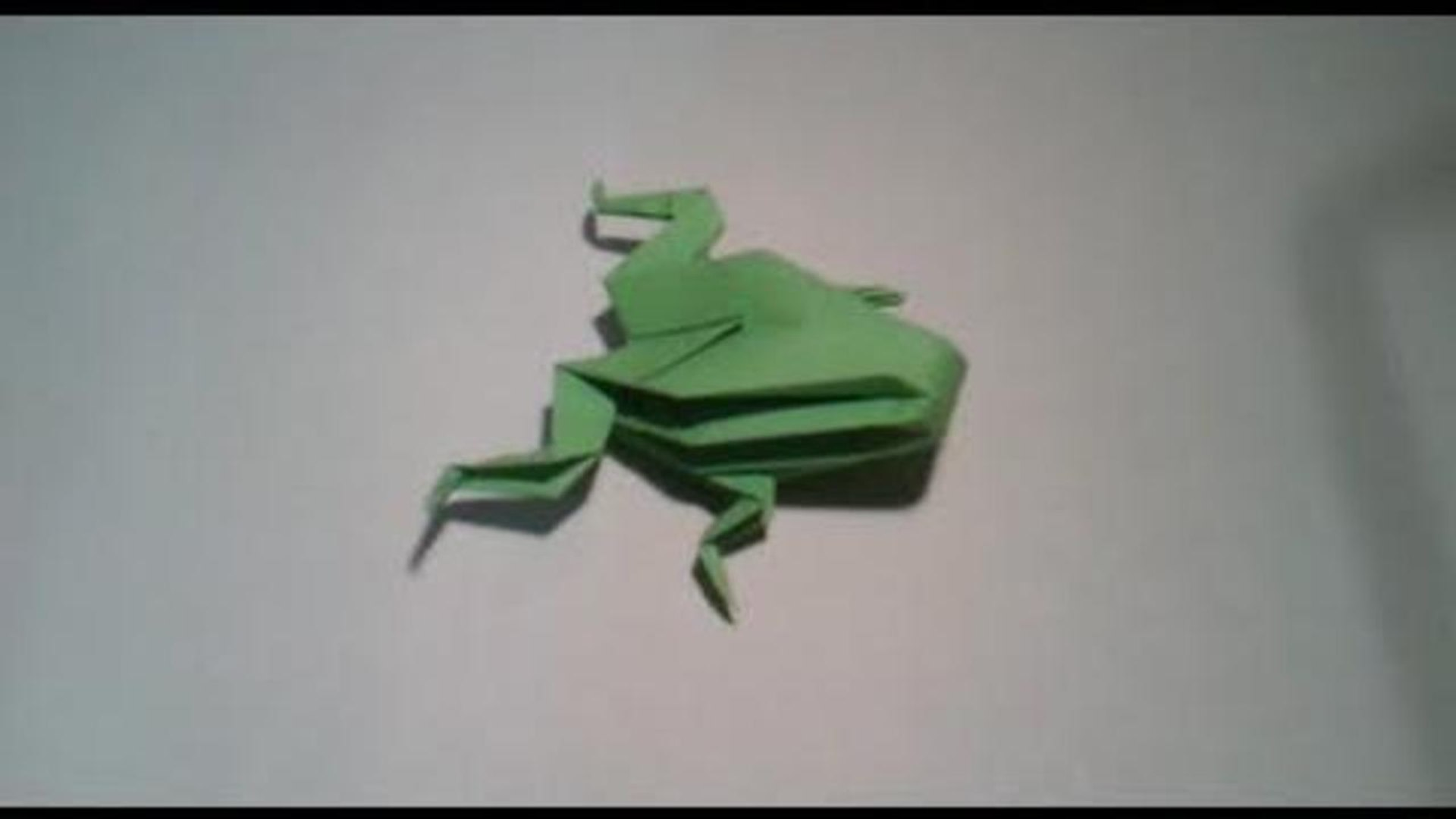 How to Fold an Easy Origami Jumping Frog - The Printables Fairy | 1080x1920