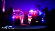 Dozens of bushfires flare in Australia