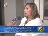 Denuncian falta de recursos para mantener operativo el banco municipal de sangre en Caracas