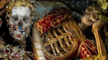 Dig These Crazy Tricked-Out Catholic Skeletons!