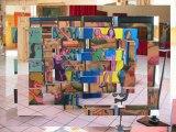 """Expositions des oeuvres des artistes """"OFF"""", 5ème Festival d'Art Contemporain de Saint-Florent-sur-Auzonnet 2013"""