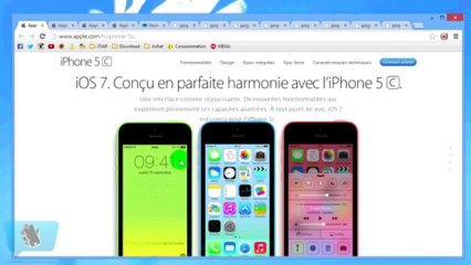 Présentation de l'iPhone 5C et l'iPhone 5S par Alex ! (iTiAP)
