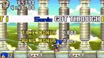 Sonic Advance - Sonic : Angel Island Zone Act 1