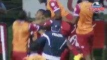 Gol de Panamá anotado por Gabriel Torres