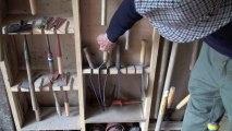 Divers porte-outils destinés aux outils de jardin (fabrication et utilisation)
