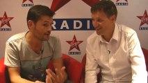 """Christophe Beaugrand en interview avec Lionel Durel pour sa matinale sur Virgin Radio """"Virgin Tonic"""""""