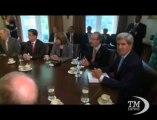 """Siria, Letta: nessun intervento militare senza mandato dell'Onu. Per il premier """"c'è spazio per una soluzione politica"""""""