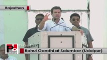 Rahul Gandhi in Rajasthan explains Congress-led UPA govt's welfare policies for the poor