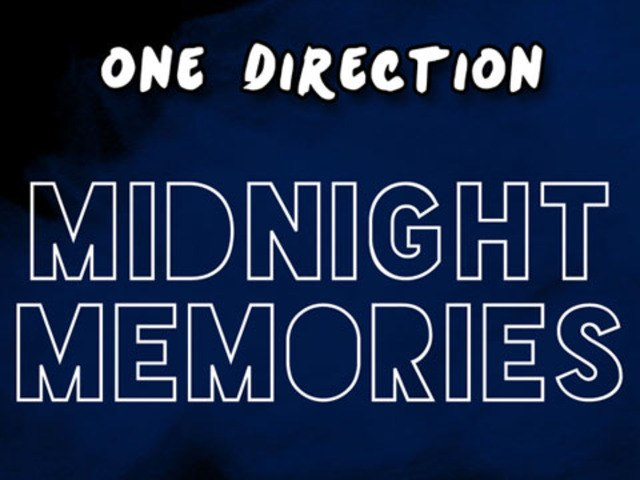 One Direction's new CD, MIDNIGHT MEMORIES only just became available for pre-order!
