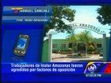 Pdt. Inatur Amazonas: Afectos al gobernador Guarulla secuestraron a quienes tomaban medida en Hotel Amazonas