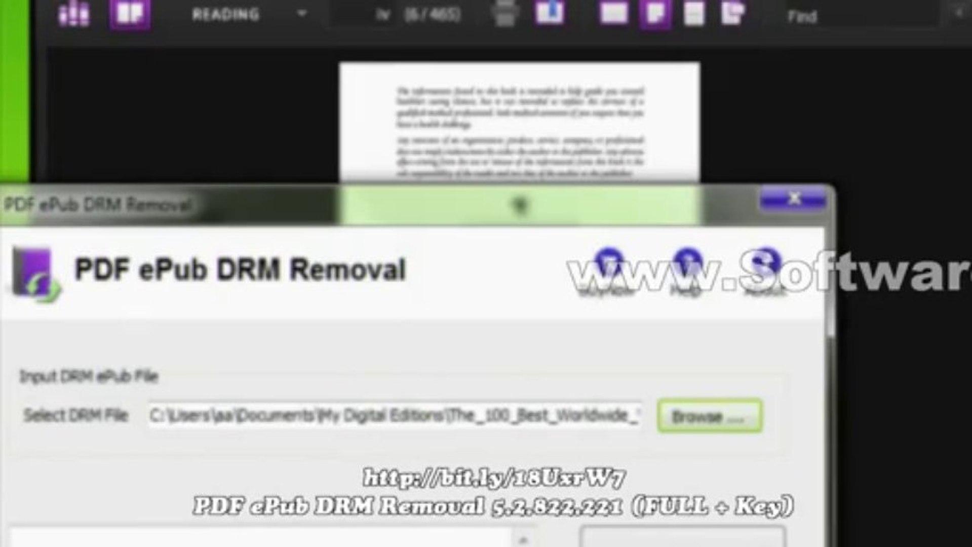 PDF ePub DRM Removal 5 2 822 221 (FULL + Key)