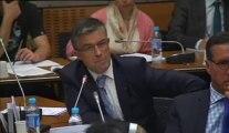 10 septembre 2013, Bertrand Pancher intervient en Commmission de Développement Durable, sur la gestion des déchets dans le cadre des filières REP