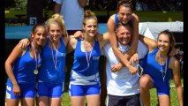 Championnats de france Aviron - Vichy 2013 4XCF Libourne
