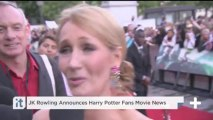 JK Rowling Announces Harry Potter Fans Movie News