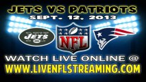 Watch NFL Live Jets vs Patriots Game Live Streaming