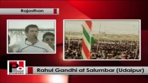 Rahul Gandhi kicks-off Congress campaign in Rajasthan from Udaipur; attacks opposition -- Part 01