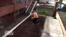 Parkour Fails Compilation : pour les fans de grosses gamelles et de sauts dangereux qui finissent mal!