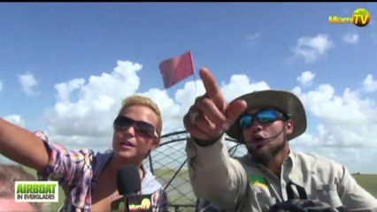 Miami TV  - Jenny Scordamaglia Everglades Tour - Airboatineverglades.com