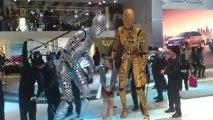 Salon Francfort 2013 : des robots s'invitent sur le stand Toyota