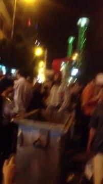 مظاهرات ضد انقطاع الماء في الاسكندريه