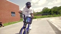 Session freestyle avec le Vélib New Yorkais!! Citi Bike - BMX 2013