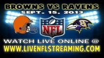 Watch Cleveland Browns vs Baltimore Ravens Live NFL Streaming Online