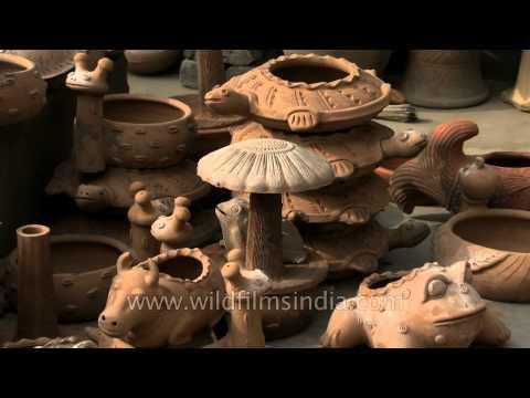 Collection of animal stoneware