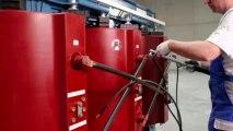 TOji.vn Nhà phân phối chính thức máy biến áp khô SIEMENS GEAFOL-Hướng dẫn vệ sinh và lắp đặt máy biến áp khô Install Cast Resin SIEMENS GEAFOL