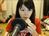 【ニコ生】2013年9月14日 千野ちゃん 【ロリ巨乳】フルーツ食べるトコ見てて【美少女】