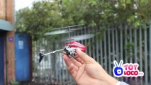 Mini RC Helicopter 3.5Ch With Gyro With Auto Demo Function129 Demo