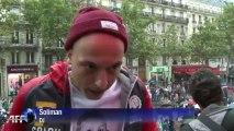 Paris: la Techno Parade fête ses 15 ans sous la pluie