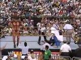 (8 feet tall)  Giant Gonzalez meets Undertaker