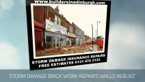 STORM Damage Emergency Roof Repairs Edinburgh,STORM Damage Insurance Repairs,  0131 476 2122