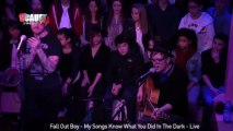 Fall Out Boy - My Songs Know What You Did In The Dark - Live - C'Cauet sur NRJ