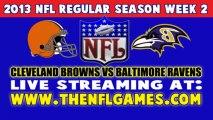 Watch Cleveland Browns vs Baltimore Ravens NFL Live Stream